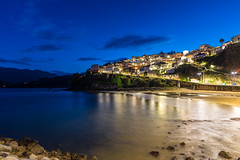 Noche en Lastres (Alberto García López) Tags: mar largaexposición longexposure noche asturias españa spain landscape