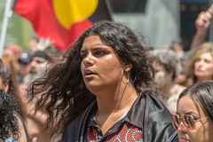 Melbourne 26th of January 2018 (stenaake) Tags: 26thofjanuary australiaday occupationday invasionday survivalday nationalday protest protesting melbourne downunder aussies aussie oz demonstration politics people gather street aboriginal aboriginals 2018 victoria change holiday protesters walking australians january 26 26th woman lady girl