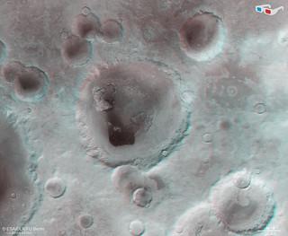 Neukum Crater in 3D