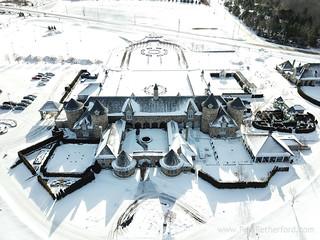winter wedding northern michigan castle farms photo-3