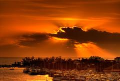 Sunrise, Nassau, Bahamas (shanepinder) Tags: sunrise early morning dawn horizontal horizon nassau bahamas ocean sea water sky clouds peace peaceful tranquil tranquility boats harbour buildings rays newprovidence
