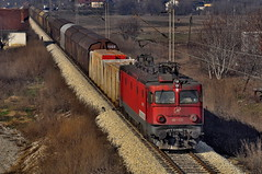 060EA(SK 461-139) with mix freight train for Thessaloniki in Leskovac by Dusan Railfan -