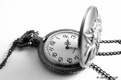 23/365 2018 Pocket Watch (crezzy1976) Tags: nikon d3300 nikkor40mm indoors stilllife pocketwatch photographybyneilcresswell photoaday crezzy1976 blackandwhite monochrome watch 365 365challenge2018 day23 time timepiece whitebackground everydayobjects