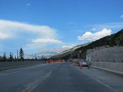Construction activity at Athabasca River Bridge (jimbob_malone) Tags: 2017 highway16 alberta