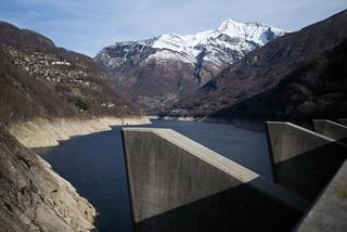 concrete @Lago di Vogorno