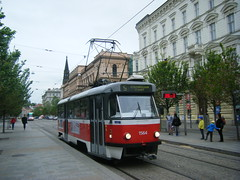 Brno tram No. 1564. (johnzebedee) Tags: tram transport publictransport vehicle brno czechrepublic johnzebedee tatra tatrat3
