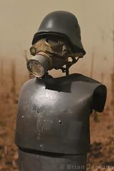 WWI German Gas Mask and Armour (Bri_J) Tags: royalarmouries leeds westyorkshire uk museum militarymuseum yorkshire nikon d7200 wwi germanarmy gasmask armour respirator