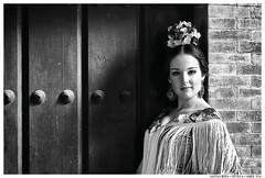 Give it everything you got (Matías Brëa) Tags: mujer woman girl retrato portrait flamenco blancoynegro blackandwhite byn bw bnw