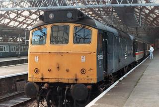 02034 25323 Liverpool Lime Street Station 20.09.1986