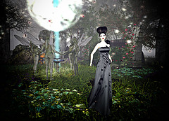 LuceMia - Virtual Diva Couture (MISS V♛ ITALY 2015 ♛ 4th runner up MVW 2015) Tags: virtualdivacouture sl new creations mesh beauty rose gown models lucemia