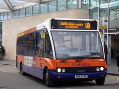 Centrebus Optare Solo 274 YN53 SVE on route W8 to Wellingborough (Alex S. Transport Photography) Tags: bus vehicle outdoor road optaresolo solo optare centrebus routew8 274 yn53sve
