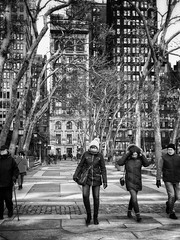 Park walk (Michael Beresin) Tags: shotoniphone iphoneography iphone michaelberesin newyorkcity nyc bryantpark people blackandwhite streetphotography
