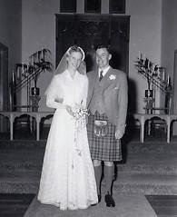 Wedding 1950's (Bury Gardener) Tags: blackandwhite bw oldies old vintage 1950s 1958 snaps scans africa tanzania