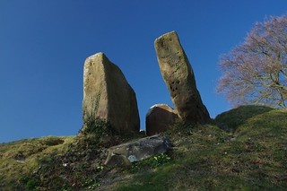 Coldrum Long Barrow, Kent's Neolithic Megalith and 1000 years earlier than Stonehenge. My next refuelling point on the National Long Distance Path - The Pilgrims Way.