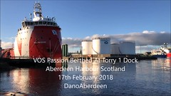 VOS Passion - Torry Docks - Aberdeen Harbour Scotland - 17/2/2018 (DanoAberdeen) Tags: mpeg aberdeen autumn amateur aberdeencity aberdeenscotland abdn aberdeenharbour scotland spring scotia schotland skottland scottishhighlands škotija scottish winter water workboats wss ecosse escocia escotia engineering recent riverdee tug transport tugboat torry tanker tugboats uk ukshipspotters unitedkingdom iskoçya iphone iphone7plus iphoneography iphonevideo 2018 danoaberdeen abz shipspottersuk vessels video vts grampian geotagged granitecity aberdeenunionstreet seafarers seaport seascape seashore tranquil offshore offshoreships offshorevessels offshoresupplyship oilrigs summer supplyships cargoships mp4 dano footdee fittie torrybattery docks vospassion vroonoffshore psv gb peacefull
