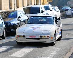 #75 Porsche 944 (kinsarvik) Tags: castillonlabataille gironde bordeauxaquitaineclassic rallye rally