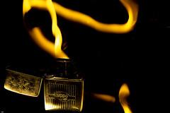 Playing With The Flame... (happad fotografie) Tags: flame vlam zippo lighter aansteker vuur fire dark shine light painting lightpainting creative nikon nikkor d610 2470