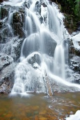Wentworth Waterfalls January Thaw 2018 (kimshand) Tags: waterfalls falls water stream brook winter ice winterbeauty snow ns wentworthvalley wentworth canada