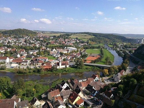 View from Harburg Castle Germany (26)