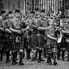 Pipes on the march (FotoFling Scotland) Tags: edinburgh piper royalmile scotland thepiperstrail highstreet kilt kilted male meninkilts pipers sporran tartan