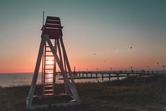 Stairway to sunset... (b_represent) Tags: sunset ostsee beach sea balticsea wustrow strand landscape landschaft