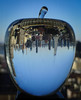 The Big Apple (Greg Adams Photography) Tags: nyc newyork newyorkcity crystal award apple stem buildings skyline sky usa 2018 hhsc2000 glass city metropolitan blue clear