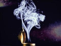 Chaotic Split (clarkcg photography) Tags: smoke incense light colors form split two fork chaos struggle fight dominate freethememonday mondayfreetheme 7dwf sundaylights