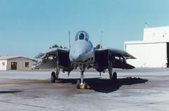 F-14A 161146 NL202 VF-111 (spbullimore) Tags: f14 f14a tomcat usn us navy usa vf111 miramar 1989 nl202 161146 aircraft