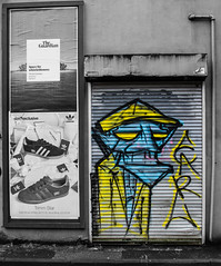 Manchester streetlife (PDKImages) Tags: manchesterstreetart street art manchester streets streetart urban posterart pasteup streetscenes