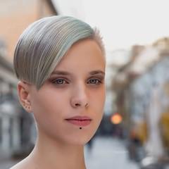 (nacfoto photography) Tags: detailed eyes venue city street beauty nikon 85mm 85 portrait face ljubljana composition fashion hair