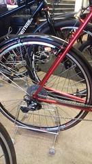 Roberts Transcontinental Red Classic British Touring Bike Frame (drbw120367) Tags: roberts transcontinental red chrisking sks blackburn road touring tourer silver frame kcnc cateye padrone velo 275 brooks fast sram avid paulcomponents 118th 272mm 309mm 36h mountain tarmac path bridelway uk cool cult retro vintage british ruby 700c qr spd mtb bespoke build pdm985 csm980 rdm980sgs fdm971 fcm970 slbs78 xtr shimano continental hudz fizik trp tune pro m6 m5 thomson elite x4 kfc cyclocross carbon masterpiece steel steed hope mono rs atozi black dtswiss flame lightweight