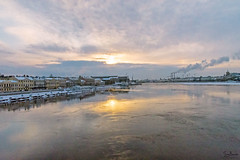 Neva (Tony_Brasier) Tags: icecold ice raw russia river fun fishing sigma snow nikond7200 water walking lovely location statues saintpetersburg lights sky sun snowing