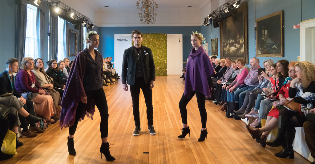 MADE-Slow PRESENTATION OF QUALITY IRISH FASHION DESIGN - STUDIO DONEGAL [FASHION SHOW AT THE RDS JANUARY 2018]-136251