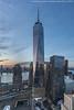 WTC Twilight (20180120-DSC07821-Edit) (Michael.Lee.Pics.NYC) Tags: newyork wtc onewtc worldtradecenter 911memorial brookfieldplace hudsonriver jerseycity aerial hotelwithview milleniumhilton sunset twilight night bluehour architecture cityscape reflection lowermanhattan sony a7rm2 voigtlanderheliar15mmf45