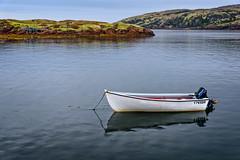 Powerboat (Brett of Binnshire) Tags: shoreline powerboat ocean locationrecorded scenic water middlebay bay quebec canada boat