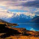 Digital Oil Painting of Lake Pukaki by Charles W. Bailey, Jr. thumbnail