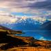 Digital+Oil+Painting+of+Lake+Pukaki+by+Charles+W.+Bailey%2C+Jr.