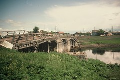 4b. Rickety bridge near Pokronka between Omsk and Novosibirsk