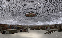 Buzludzha (Left in the Lurch) Tags: abandoned monument communist
