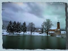 Vague de froid sur Thierenbach - Haut Rhin / Alsace (jamesreed68) Tags: basilique église étang thierenbach 68 alsace hautrhin grandest nature gel paysage france samsung wb30fwb31fwb32f