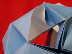 Okeanos Kusudama (close-up) (ISO_rigami) Tags: modular origami 3d a4 kusudama okeanos eckhardhennig sid sidx