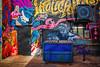 Albuquerque Graffiti Art (hnicpena) Tags: albuquerque abq burque downtown graffiti mural alley art urban streetart streetphotography urbanart urbanwalls