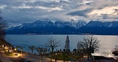 Vevey - the Swiss Riviera (somabiswas) Tags: lacleman alps vevey switzerland suisse landscape lakegeneva