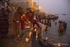 Varanasi (Rolandito.) Tags: asia india inde indien varanasi benares ganges ganga river morning ceremony