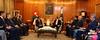 جلالة الملك عبدالله الثاني يعقد مباحثات موسعة مع الرئيس الباكستاني ممنون حسين في القصر الرئاسي بإسلام آباد (Royal Hashemite Court) Tags: jordan kingabdullahii kingabdullah pakistan islamabad president mamnoon hussain الأردن باكستان جلالة الملك عبدالله الثاني الرئيس الباكستاني ممنون حسين إسلام آباد