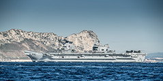HMS Queen Elizabeth on her maiden call to Gibraltar Feb 2018 (David Parody) Tags: