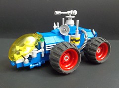 NCS Tetrapillar rover (SaurianSpacer) Tags: lego moc febrovery spacerover neoclassicspace