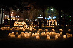Snow Lanterns (kat-taka) Tags: ã¬ãã snow festival shadow light lantern winter