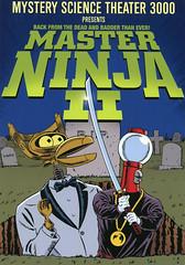 MST3K-Master-Ninja-II (Count_Strad) Tags: movie cover art coverart drama action horror comedy mystery scifi vhs dvd bluray mst3k mysterysciencetheater3000