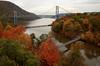 Three Bridges (Jersey JJ) Tags: three 3 bridge bridges bear mountain hudson river hdr photomatix autumn colorful